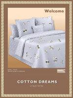 Постельное белье Cotton-Dreams Welcome твил-сатин