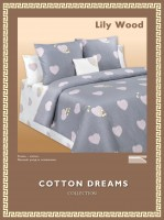 Постельное белье Cotton-Dreams Lily Wood твил-сатин