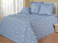 Покрывало стеганое Cotton Dreams Stars 160х220 см