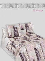 Покрывало стеганое Cotton Dreams El Greco 160х220 см