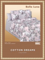 Постельное белье Cotton-Dreams Bella Luna твил-сатин