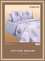 Постельное белье Cotton-Dreams Caprice твил-сатин