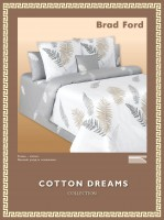 Постельное белье Cotton-Dreams Brad Ford твил-сатин