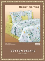 Постельное белье Cotton-Dreams Happy morning твил-сатин